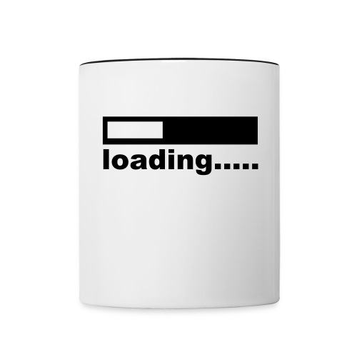 Loading... Coffee Mug - Contrast Coffee Mug