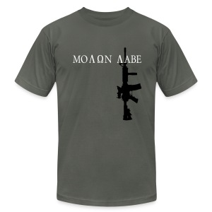 Molon Labe American Apparel - Men's T-Shirt by American Apparel