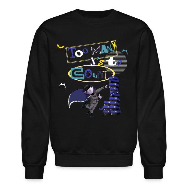 3653b0592b3a15 Jordan Gamma blue 11s crewneck-Jordan 11(X) sweatshirt blue gamma-Too many  js to count