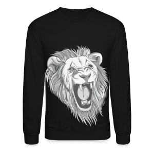 lion roar - Crewneck Sweatshirt