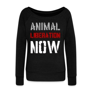 Liberation Now - Women's Wideneck Sweatshirt