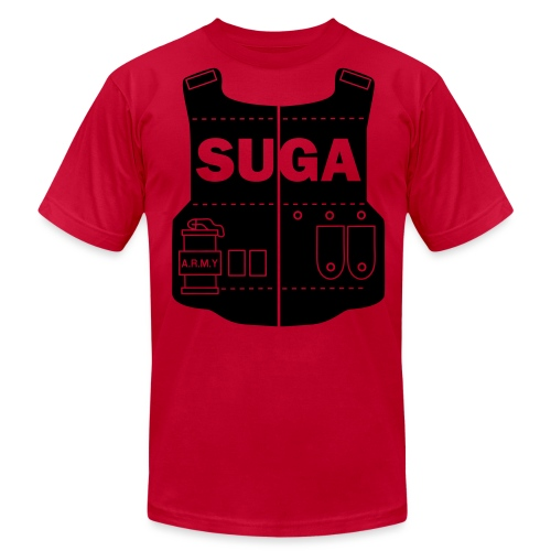 BTS- Suga Vest  - Men's T-Shirt by American Apparel