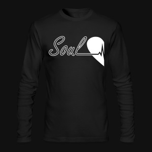 Soulmate Left couple - Men's Long Sleeve T-Shirt by Next Level