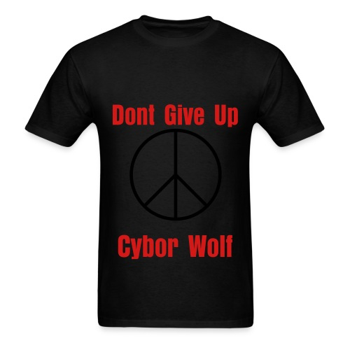 Dont Give Up - Men's T-Shirt