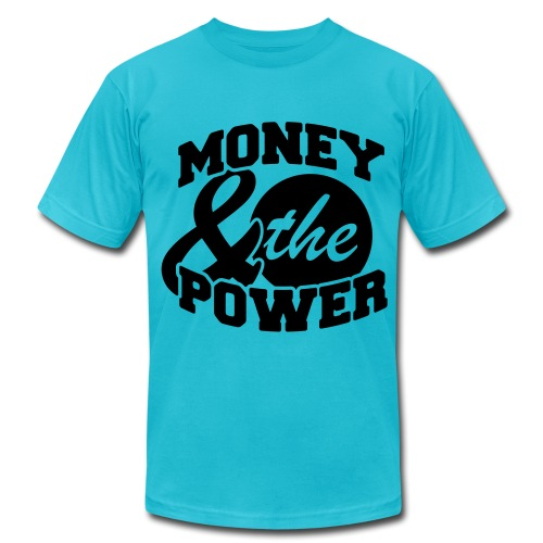 Money and The Power - Men's Fine Jersey T-Shirt