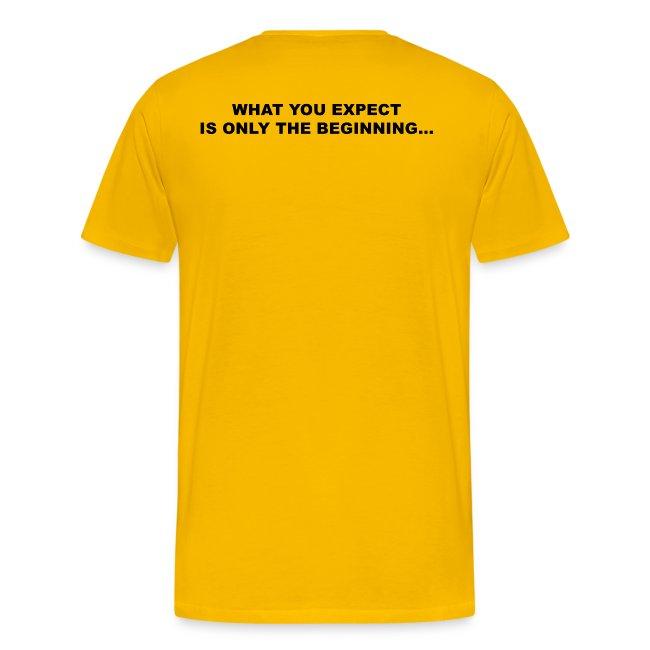 TRUTH Logo Shirt - Yellow Men's