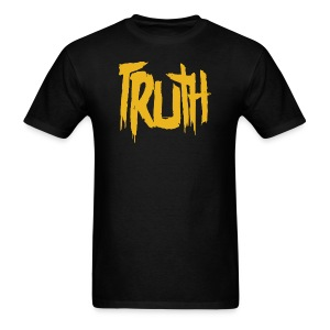 TRUTH Logo Shirt - Black Men's - Men's T-Shirt