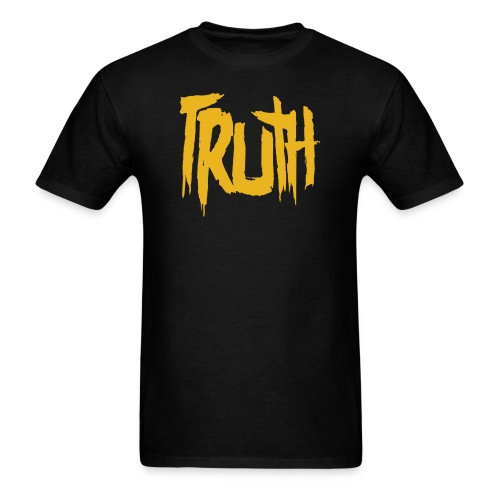 TRUTH Logo Shirt - Black Men's - Men's T-Shirt