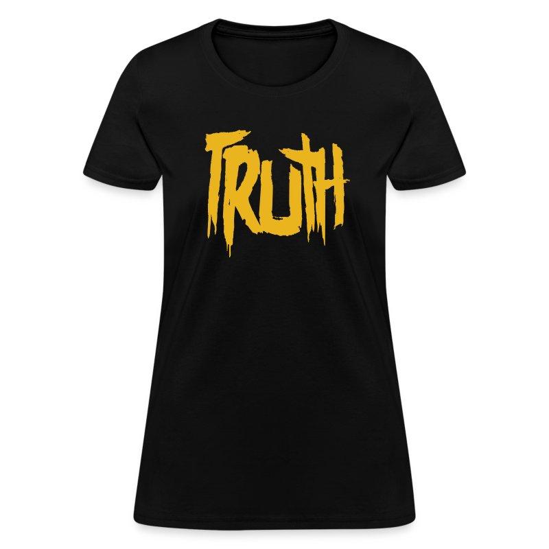 TRUTH Logo Shirt - Black Women's - Women's T-Shirt