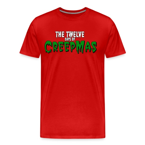Twelve days of CREEPMAS - Red Men's - Men's Premium T-Shirt
