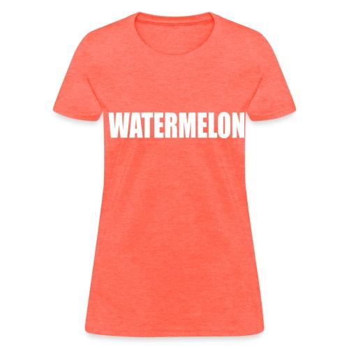 watermelon tee - Women's T-Shirt