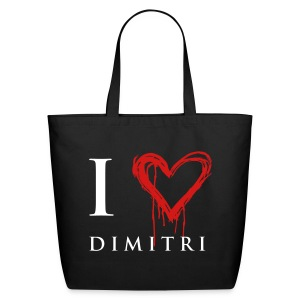 I heart Dimitri - Eco-Friendly Cotton Tote