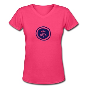 New MIG Ladies Tee - Women's V-Neck T-Shirt