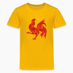 Wallon Rooster Kids' Shirts