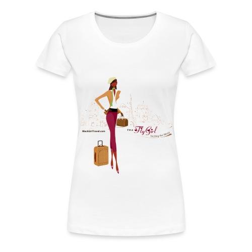 Haute FlyGirl - Women's Premium T-Shirt
