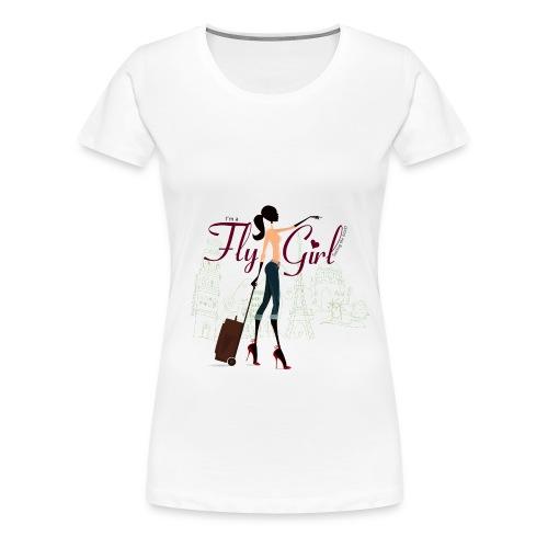 Chic FlyGirl - Women's Premium T-Shirt