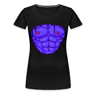 T-Shirts ~ Women's Premium T-Shirt ~ I CAN MILK THESE F