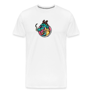 T-Shirts ~ Men's Premium T-Shirt ~ Zee Dragon logo