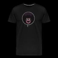 T-Shirts ~ Men's Premium T-Shirt ~ BLACK SUNSHINE M