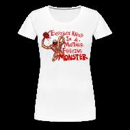 Women's T-Shirts ~ Women's Premium T-Shirt ~ MOTHER F@#$IN F