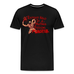 MOTHER F@#$IN M - Men's Premium T-Shirt