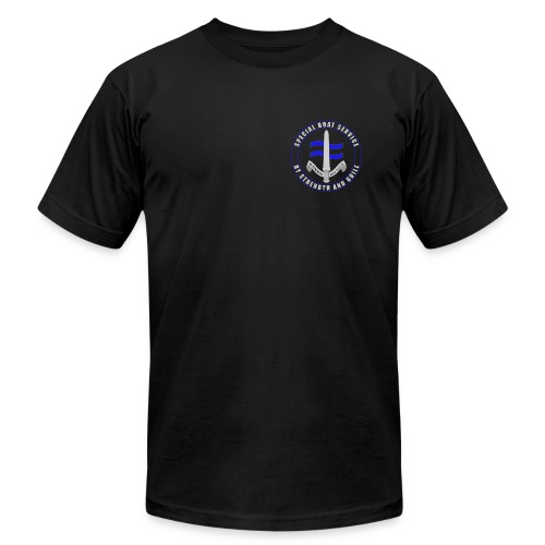 UK Forces - Special Boat Service - Men's Fine Jersey T-Shirt