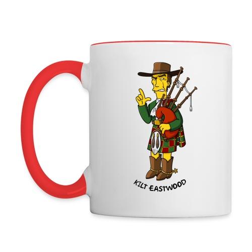 Kilt Eastwood - Mug - Contrast Coffee Mug