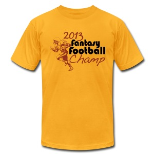 2013 Fantasy Football Champ - Men's T-Shirt by American Apparel