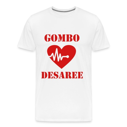 Gombo loves Desaree fan shirt - Men's Premium T-Shirt