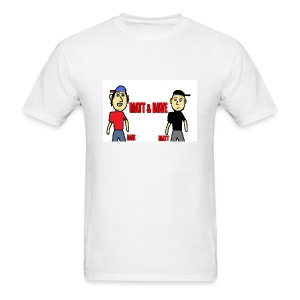 Matt and Dave - Logo (Mens) - Men's T-Shirt