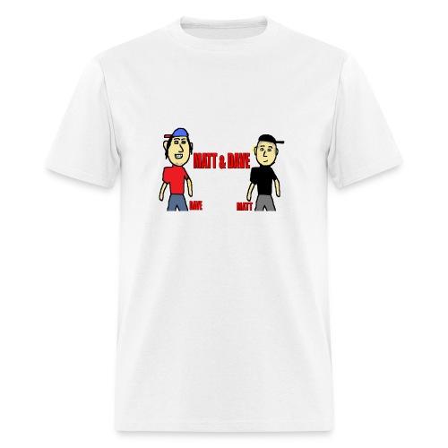 Matt and Dave - Logo (Mens) - Men's T-Shirt