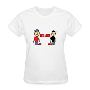 Matt and Dave - Logo (Womens) - Women's T-Shirt
