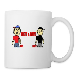 Matt and Dave - Logo Mug  - Coffee/Tea Mug