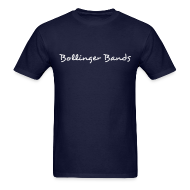 T-Shirts ~ Men's T-Shirt ~ Bollinger Bands