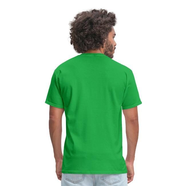 18 Reasons Not to Work Disc Golf Shirt - Black Print -  Men's Standard Weight Shirt