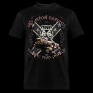T-Shirts ~ Men's T-Shirt ~ oldschool customs Route 66 road hot rod rod