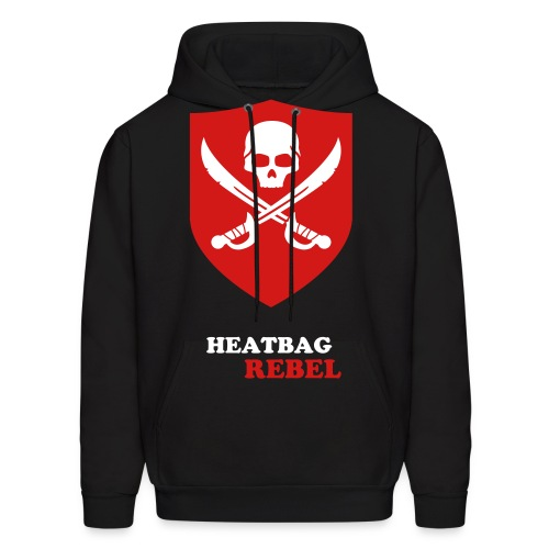 Heatbag Rebel Men's Pull Over Sweater - Men's Hoodie