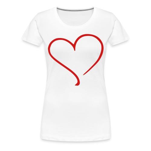 BIG HEART Women's T - Women's Premium T-Shirt