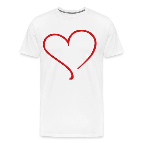 BIG HEART Men's T - Men's Premium T-Shirt