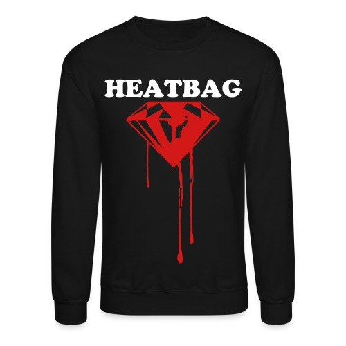 Heatbag Diamonds Crew Neck Sweater - Crewneck Sweatshirt
