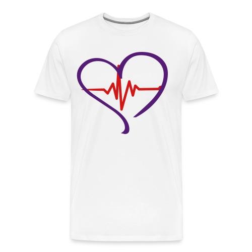 Men's I'M ALIVE - Purple Heart T - Men's Premium T-Shirt