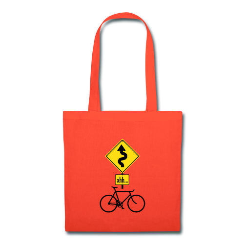 ahh... tote bag red - Tote Bag