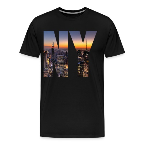 NY  - Men's Premium T-Shirt