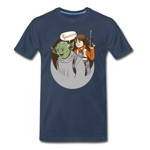 Of to Battle - Men's Premium T-Shirt