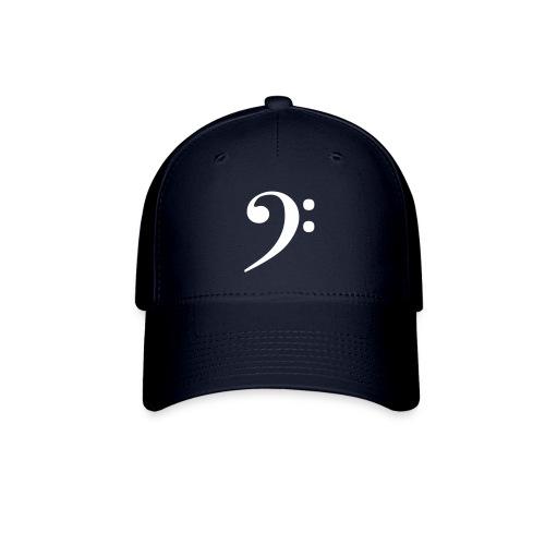Blue Bass Clef Cap - Baseball Cap