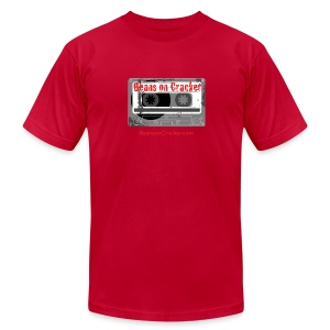 Premium Audio Tape Men's T-Shirt - Men's T-Shirt by American Apparel