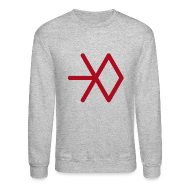 Long Sleeve Shirts ~ Crewneck Sweatshirt ~ EXO SNOWFLAKE SWEATER (MEN)