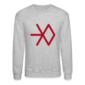 EXO SNOWFLAKE SWEATER (MEN) - Crewneck Sweatshirt