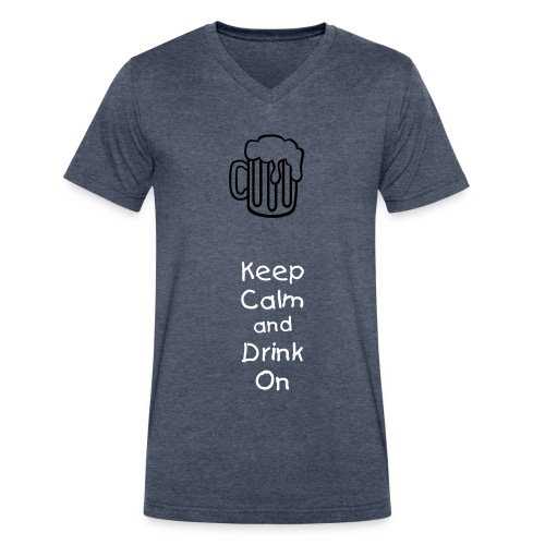 Drink on - Men's V-Neck T-Shirt by Canvas