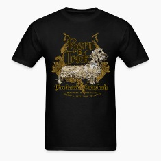 dachshund_born_to_track T-Shirts